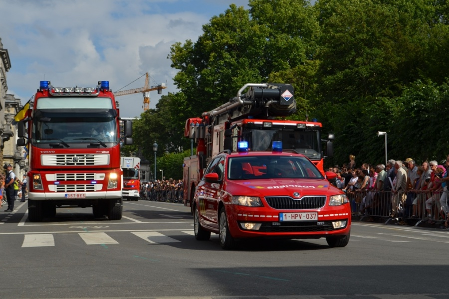 Commandovoertuig Hulpverleningszone Luxemburg