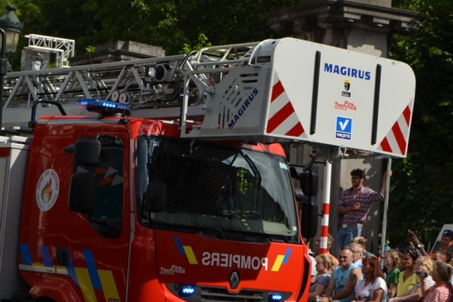 Autoladder Hulpverleningszone Wallonie Picarde