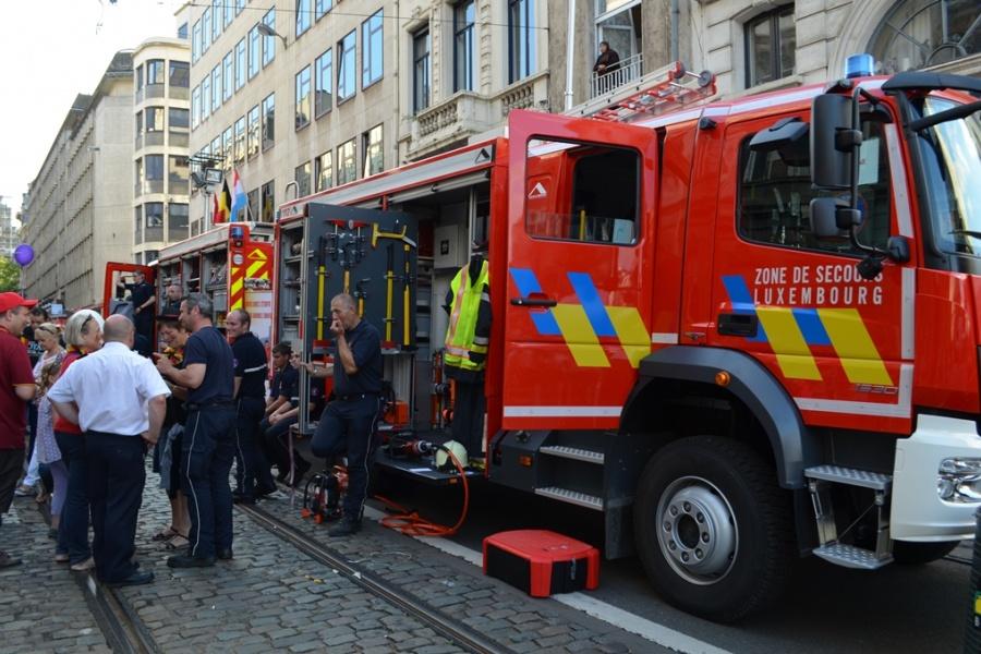 Hulpverleningszone Luxemburg geeft meer uitleg bij hun nieuwe voertuigen