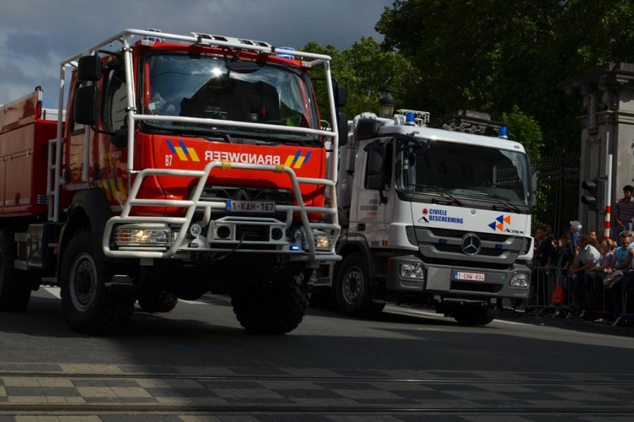 Bosbrandvoertuig Hulpverleningszone Rand