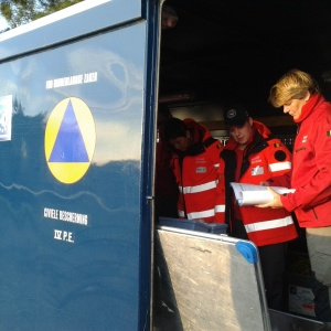 EUFaModex Module Water purification of the Belgian Civil Protection